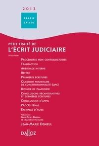 Petit traité de lécrit judiciaire 2013.pdf
