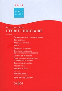 Accentsonline.fr Petit traité de l'écrit judiciaire Image