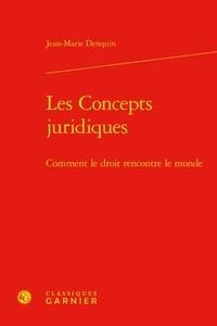 Jean-Marie Denquin - Les concepts juridiques - Comment le droit rencontre le monde.