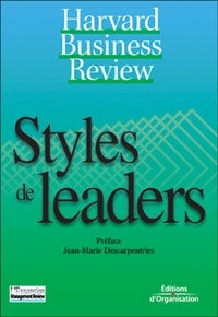 Jean-Marie Descarpentries - Styles de leaders.