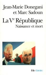 Jean-Marie Donegani et Marc Sadoun - .