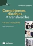 Jean-Marie Dujardin - Compétences durables et transférables - Clés pour l'employabilité.