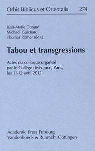 Tabou et transgressions - Actes du colloque organisé par le Collège de France, Paris, les 11-12 avril 2012.pdf