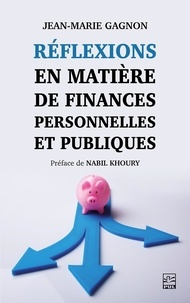 Liste de livres électroniques téléchargeables gratuitement Réflexions en matière de finances personnelles et publiques