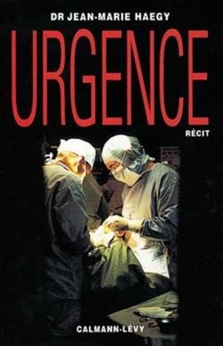 Jean-Marie Haegy - Urgence.