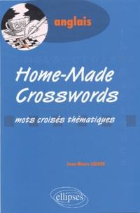 Jean-Marie Jaeger - Home-Made Crosswords - Mots croisés thématiques.