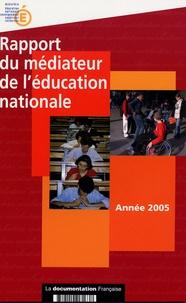 Jean-Marie Jutant - Rapport du médiateur de l'éducation nationale..