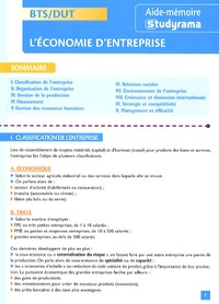 L'économie d'entreprise BTS/DUT - Jean-Marie Le Tallec |