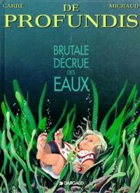 Jean-Marie Michaud et Claude Carré - De profundis Tome 1 : Brutale décrue des eaux.