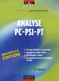 Histoiresdenlire.be Analyse PC-PSI-PT - Cours, méthodes et exercices corrigés Image