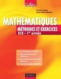 Jean-Marie Monier - Mathématiques - Méthodes et Exercices ECE - 1re année.