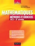 Jean-Marie Monier - Mathématiques Méthodes et Exercices ECS 2e année.