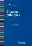 Jean-Marie Monnier - Finances publiques.