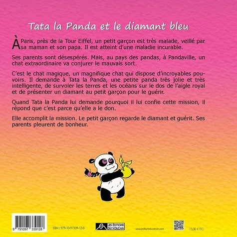 Tata la panda. Tome 2, Tata la panda et le diamant bleu