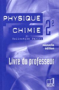 Jean-Marie Parisi - Physique Chimie 2e - Livre du professeur.