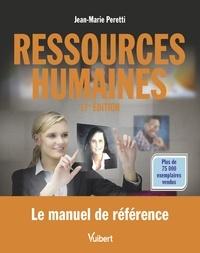 Jean-Marie Peretti - Ressources humaines - Le manuel de référence - Label Fnege 2018.