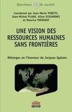 Jean-Marie Peretti et Jean-Michel Plane - Une vision des ressources humaines sans frontières - Mélanges en l'honneur de Jacques Igalens.