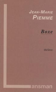 Jean-Marie Piemme - Boxe - Soirée d'hommage à Olga Walkoviack et à Toni Morello.