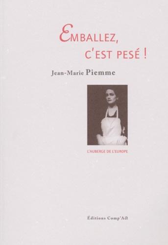 Jean-Marie Piemme - .