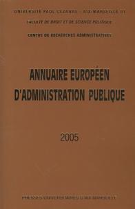 Jean-Marie Pontier - Annuaire européen d'administration publique - Tome 28.