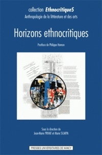 Jean-Marie Privat et Marie Scarpa - Horizons ethnocritiques.