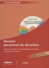 Jean-Marie Puslecki - Devenir personnel de direction. 1 Cédérom