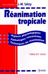 REANIMATION TROPICALE. Aspects physiologiques, pathologies rencontrées, techniques de réanimation.pdf