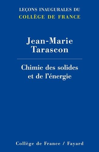 Jean-Marie Tarascon - L'énergie : stockage électrochimique et développement durable.
