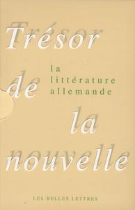 Jean-Marie Valentin - Trésor de la nouvelle de la littérature allemande - Coffret en 2 volumes.