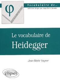 Ucareoutplacement.be Le vocabulaire de Heidegger Image