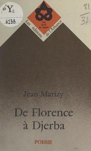 Jean Marizy - De Florence à Djerba.