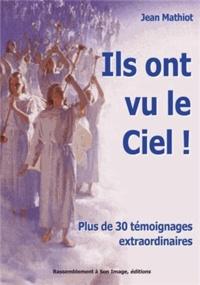 """Jean Mathiot - """"Ils ont vu le ciel""""."""