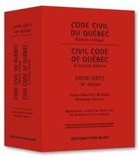 Code civil du Québec 2010-2011 - Edition critique : règlements relatifs au Code civil du Québec et lois connexes.pdf