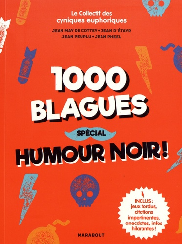 1000 Blagues Special Humour Noir Grand Format