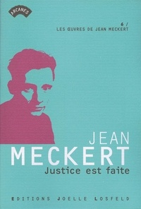 Jean Meckert - Justice est faite.
