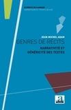 Jean-Michel Adam - Genres de récits - Narrativité et généricité des textes.