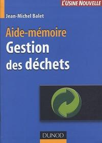 Gestion des déchets - Aide-mémoire.pdf
