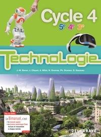 Jean-Michel Baron et Jean Cliquet - Technologie 5e 4e 3e Cycle 4 - Bimanuel.