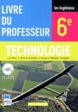 Jean-Michel Baron - Technologie 6e - Livre du professeur. 1 Cédérom
