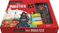 A la découverte des pirates- Avec 1 plateau aimanté et 65 pièces magnétiques - Jean-Michel Bilioud |