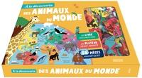 Jean-Michel Billioud et Déborah Pinto - A la découverte des animaux du monde - Un livre documentaire, un plateau géant animé, 119 pièces magnétiques.