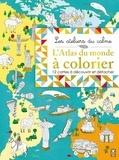 Jean-Michel Billioud et Emmanuelle Radiguer - L'atlas du monde à colorier - 12 cartes à découvrir et à détacher.
