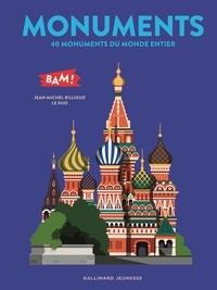 Jean-Michel Billioud et  Le Duo - Monuments - 40 monuments du monde entier.