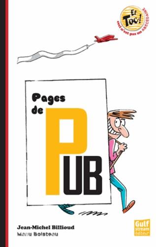 Jean-Michel Billioud - Pages de pub.