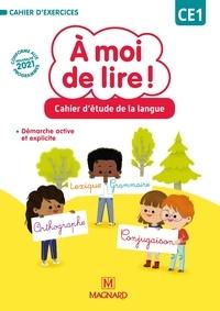 Jean-Michel Bouillaud et Stéphanie Rabot - Français CE1 Cahier d'étude de la langue A moi de lire !.