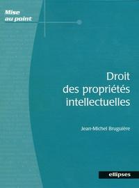 Droit des propriétés intellectuelles - Jean-Michel Bruguière pdf epub