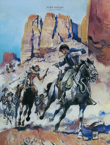 Blueberry L'intégrale Tome 1 Fort Navajo ; Tonnerre à l'Ouest ; L'Aigle solitaire