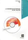"""Jean-Michel Charpin - La consommation des ménages en 2004 - Base 2000 """"Synthèses des Biens et Services"""" Section """"Consommation des ménages"""". 1 Cédérom"""