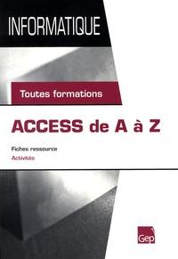 Histoiresdenlire.be Access de A à Z - Toutes formations Image