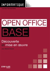 Galabria.be Open Office Base - Découverte et mise en oeuvre Image
